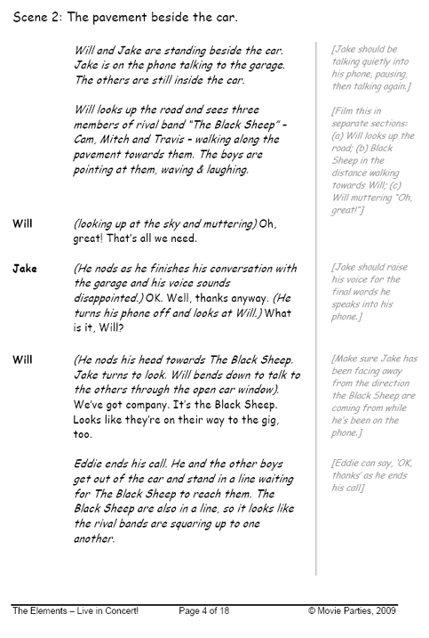 The Elements, boys, page 4